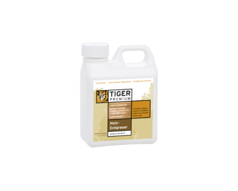 TIGER PREMIUM<sup>®</sup> Holz-Entgrauer